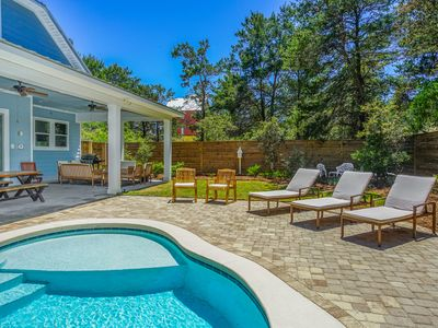 Photo for Private Heated Pool and just 3 Minute Walk to Deeded Beach Access