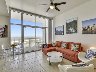Photo for Emerald 1213 is a 2 bedroom 2 bathroom condo in the luxurious Emerald By the Sea with beautiful oceans views! Sleeps 6