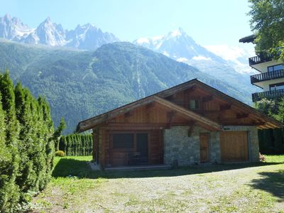 Photo for Enchanting chalet located in the charming resort of Chamonix