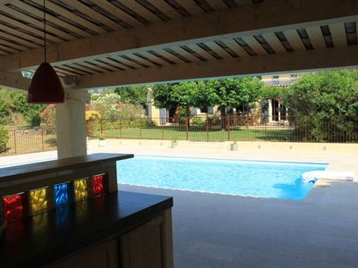 Photo for Villa with pool at the foot of Grasse