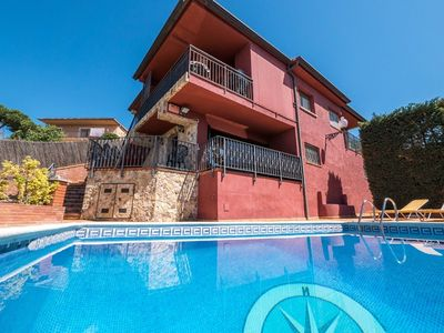 Photo for Club Villamar - Lovely villa with private swimming pool, veranda, terraces and a nice view of the sea