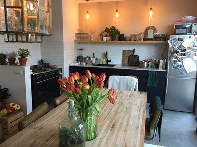 Photo for Just renovated & tastefully decorated appartment with garden! Great for couples.