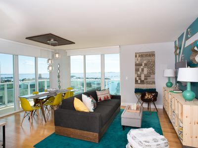 Coconut Grove Gorgeous Bay View 1/1.5 Condo Includes Parking