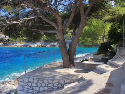Photo for Two bedroom apartment near beach Prigradica, Korčula (A-9140-b)