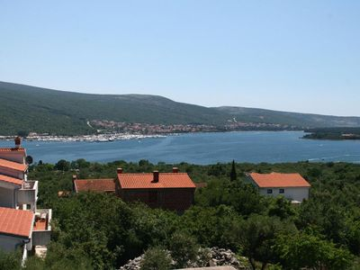 Photo for Studio flat with terrace and sea view Kornić (Krk)