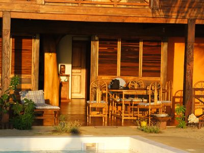 Photo for VILLA FACING THE INDIAN OCEAN - SERVICE ALL INCLUSIVE