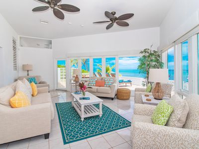 Photo for Moon Glow: Newly Renovated Beach Cottage w/Great Snorkeling; Walk to Rum Point Beach!