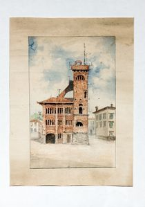 Photo for Bright apartment in medieval palace between Guinigi tower and the tower hours.