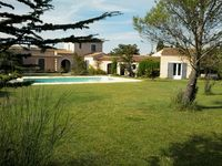 Great location, super pool and garden at Velleron.