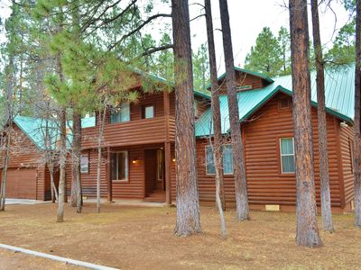 Photo for Pinetop Cabin - Sleeps 24/Great for Families-Updated/kayaks