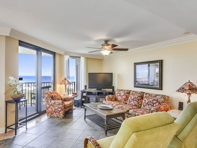 Photo for Spacious Corner Condo | Beachfront Paradise | My Beach Getaways