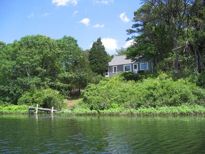 Photo for Pondfront cottage on Stillwater Pond