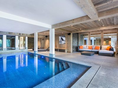 Photo for Chalet Queen Mijane : Luxury chalet 600m² with swimming pool