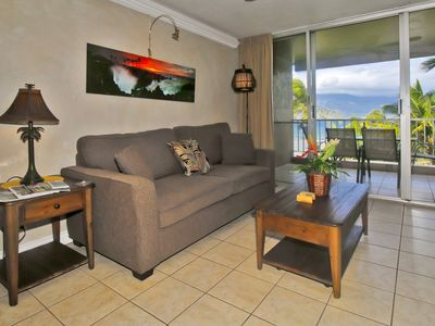 Photo for Oceanfront 2B/2B fully furnished condo.  Lanai balcony with ocean view.
