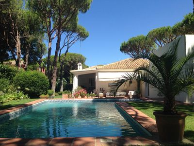 Photo for Quiet setting, lovely garden. 50m to forest, 1km to beach, shop, bar, playground