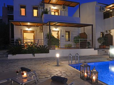 Photo for House in Kournas with Internet, Pool, Air conditioning, Parking (510189)