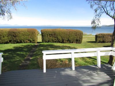 Photo for Large beach front house, great location & free WiFi