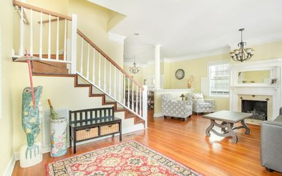The house is spacious with plenty of natural daylight!