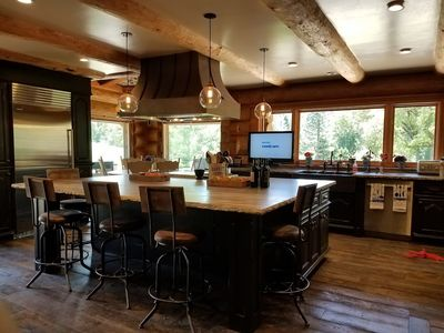 Photo for BEAUTIFUL CUSTOM LOG HOME IN WINE COUNTRY