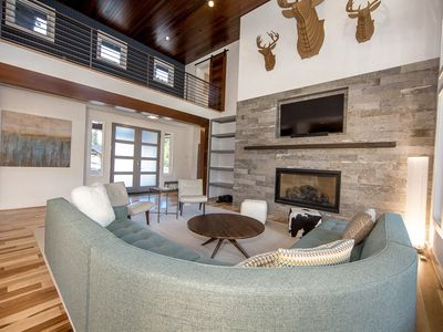 Photo for Modern Suncadia Retreat w/Private Pool & Hot Tub