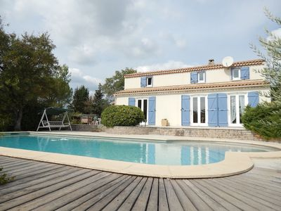 Photo for Beautiful family house with pool