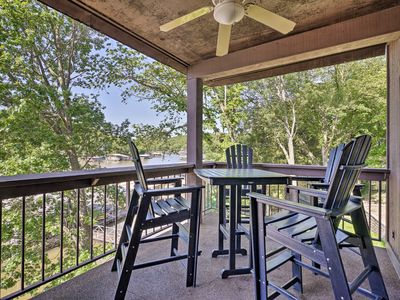Photo for 3BR Lake of the Ozarks Cove Condo w/ Hot Tub!