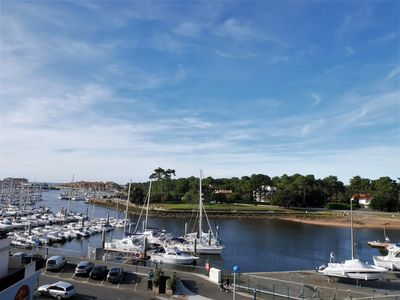 Photo for Apartment overlooking the port of Capbreton