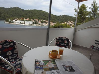 Photo for Apartment Mari  A3(2+1)  - Brna, Island Korcula, Croatia