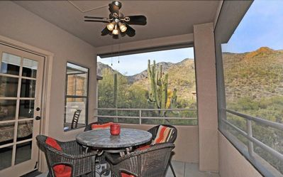 Photo for Panoramic Catalina Mountain Views.  Private, Immaculate,  Foothills Condo.