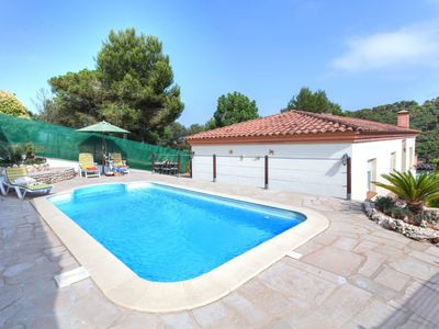 Photo for This 4-bedroom villa for up to 5 guests is located in Lloret De Mar and has a private swimming pool