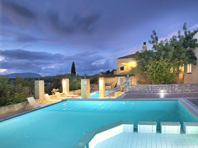 Photo for Ariadne - Luxury Villa with Large Private Pool and Great Views