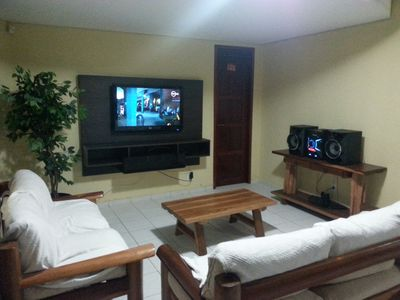 Photo for House with large space for accommodation, recreation area with pool and barbecue.