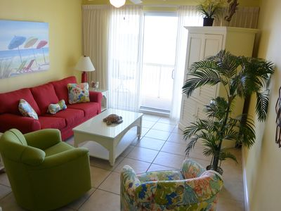 Photo for Head to the Beach. Stay At  Beautiful Calypso 506 E.  Wi-Fi & Beach Chairs Inclu