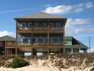 Photo for Best view on the beach -- Beachfront sleeps 23 -- NEW -- AMAZING GRACE