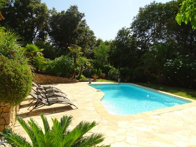 Photo for Villa with pool for 6 people, air conditioning, comfortable, open view