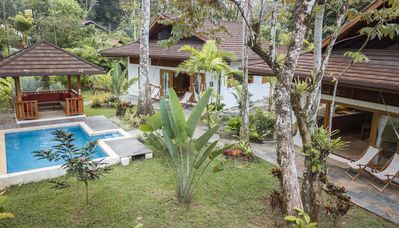 Photo for LUXURY BALINESE STYLE VILLAS WITH POOL, 150 METERS FROM THE BEACH
