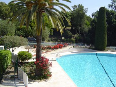 Photo for Wonderful 4 star apartment gated residence pool tennis 10 mins sea