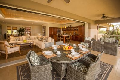 Spacious and elegant interior design along with indoor/outdoor living