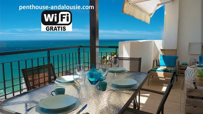 Photo for PENTHOUSE FRONTLINE AMAZING SEE VIEW TORROX NERJA MALAGA SPAIN