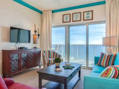 Photo for Crystal Tower 1507- Come Stay Where the Dolphins Play! Book Your Trip Now