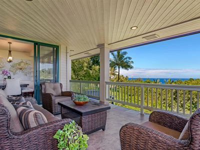 Photo for Family house near Hanalei with ocean views and bikes!