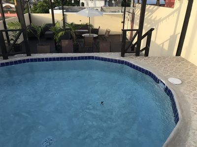 Photo for Divine 1 Bedroom Apt with Pool, Pergola, Cabana, AC E10