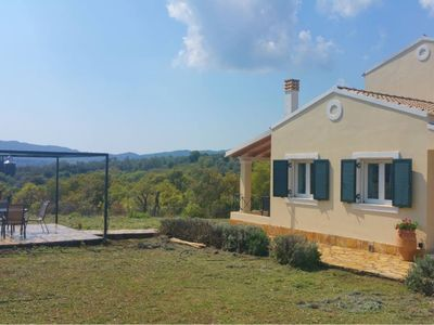 Photo for Villa Apricot, panoramic view, in total tranquility, close to beaches and town