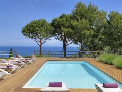 Photo for Located in a quiet residential area, only 400 m. from the beach of Sa Riera and about 3 km