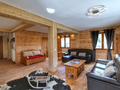 Photo for Luxury chalet 16 pers. with spa and sauna