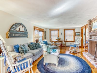 Photo for NEW LISTING! Stunning beachfront home w/ ocean views & private beach access