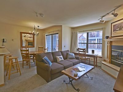 Photo for Ski-in, walk/shuttle to everything, one block to town center, riverside