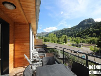 Photo for MONT-DORE Beautiful apartment T3 with wifi, balcony, view sancy and parking