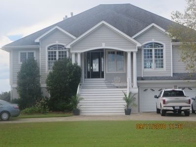 The Pungo House  Street side