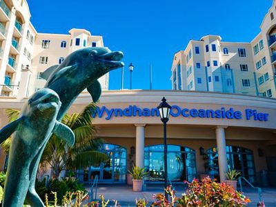 Photo for Wyndham Oceanside Pier Resort, 3 nights, 2 bdrm deluxe suite , a beach paradise